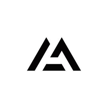 m a ma am initial logo design vector graphic idea creative