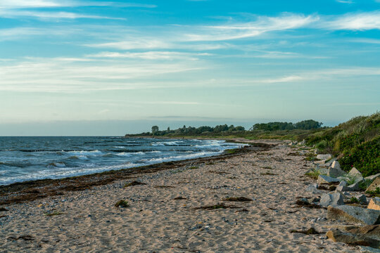 The beach near Bug (Dranske) on Ruegen island