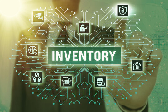 Writing note showing Inventory. Business concept for list of traits, preferences, attitudes, interests, or abilities System administrator control, gear configuration settings tools concept