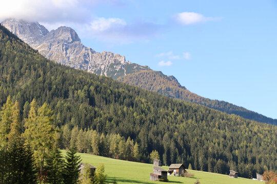 Berggipfel des Haunold von Sexten aus, Südtirol