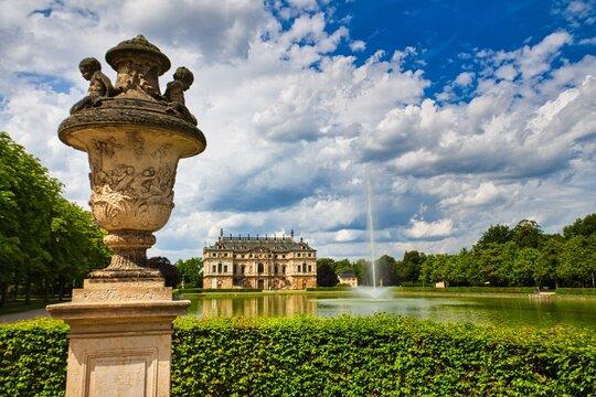 Dresden - Palais im Großen Garten