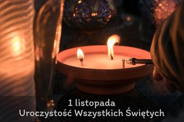 1 listopada. Uroczystość Wszystkich Świętych.