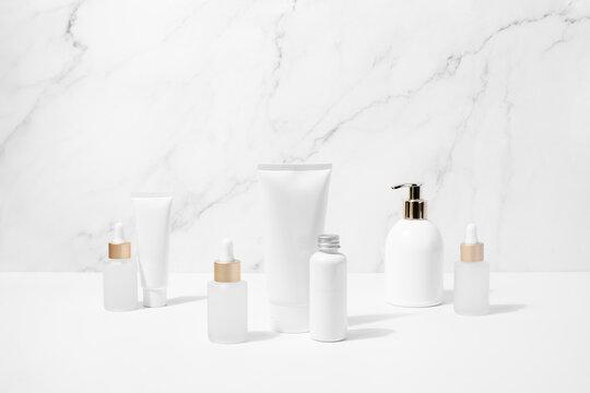 Face or body care cosmetics concept
