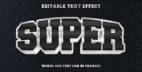 Wall Mural - super editable text effect