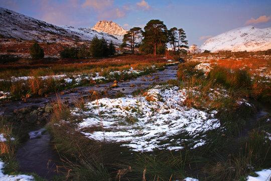 Mountains in Snowdonia
