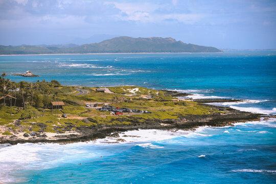 East Honolulu coast, Makapuu lookout, Oahu, Hawaii
