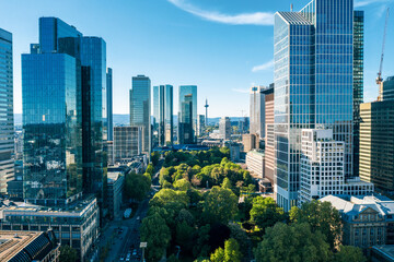 Frankfurt am Main Cityscape Fotomurales