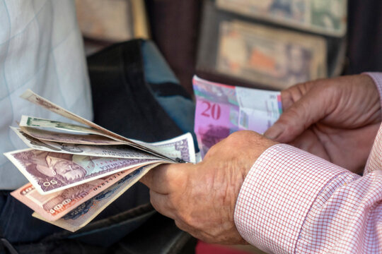 Currency exchange in Colombia
