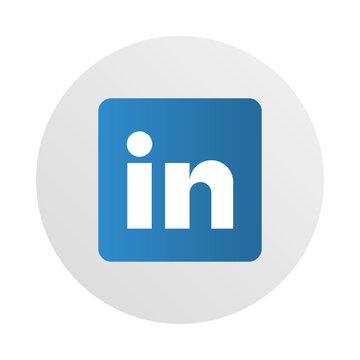social media logo, linkedin networking for professionals