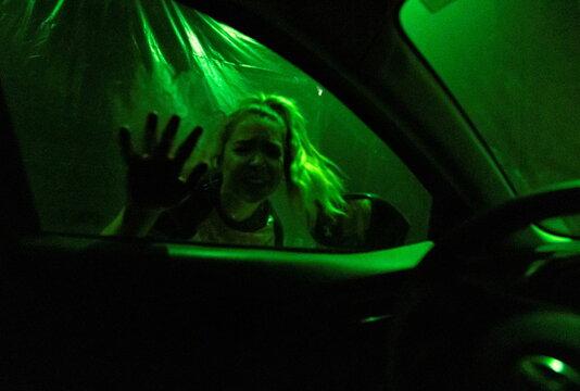 Drive-in halloween show in Las Vegas