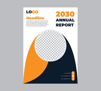 Annual Report Business Flyer Template