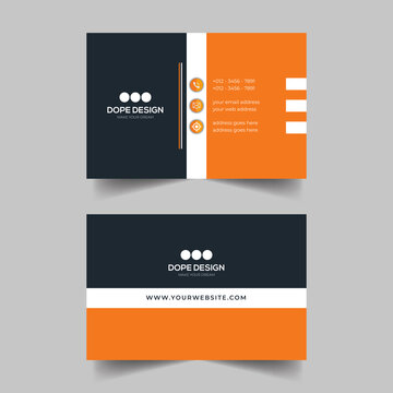 Business Card template, corporate business cards