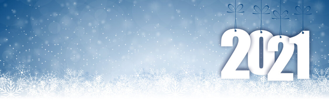 snow fall background for christmas and New Year 2021