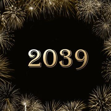 Frohes neues Jahr 2039