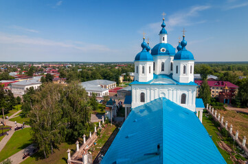 Spassky Cathedral is a historical landmark in Yelabuga, Russia. Wall mural