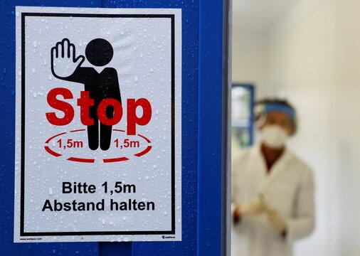 Fast coronavirus PCR test in Vienna