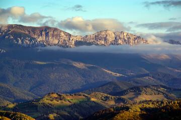 Alpine landscape of Bucegi Mountains, Romania, Europe