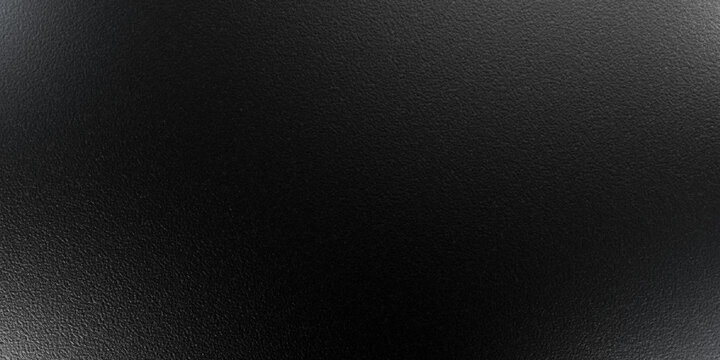 Texture of Silky Grungy Grained Black Leather Material, Sheet of Paper. Abstract Black Matter Backround. Perfect Embossed Backdrop for Design and Decoration of Various Things.