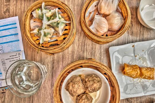 Kuala Lumpur chinese food, HDR Image