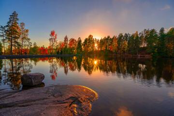 Autumn landscape scenery