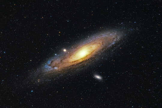 M31 The Andromeda galaxy our closest galactic neighbour.