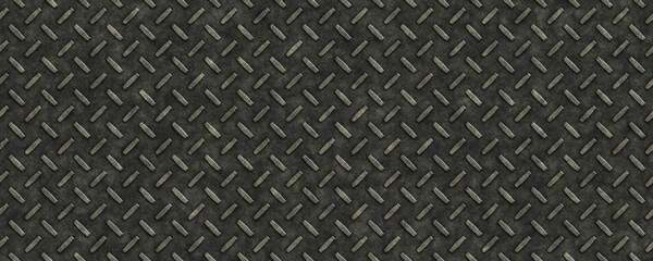 Seamless hard diamond plate texture background