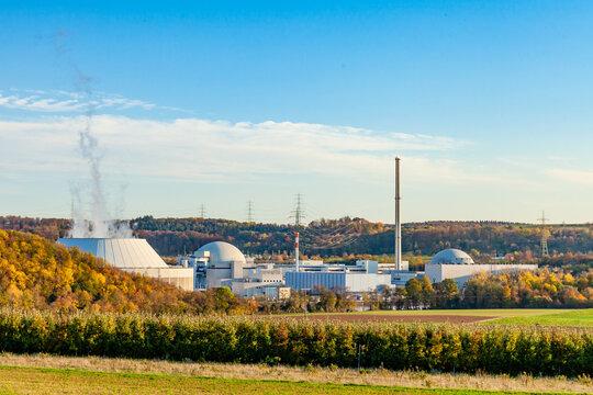 Das Kernkraftwerk Neckarwestheim, Atomkraftwerk zur Stromerzeugung