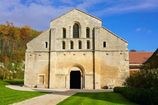 Abbaye de Fontenay November 16,  2019 in Bourgogne, France