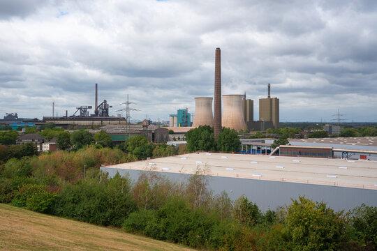 Industrial area, Ruhr Metropolis, Germany