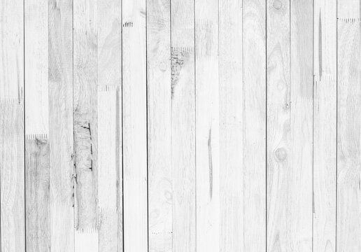 white wood plank texture and background