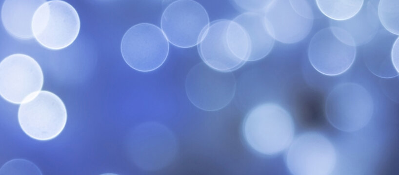 Light bokeh abstract color background illustration for open concept.  Blank empty space abstract wallpaper graphic.