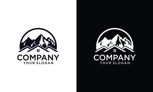 Three House Three Mountain Logo