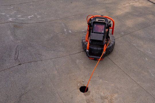 Portable camera for pipe inspection and other plumbing work.