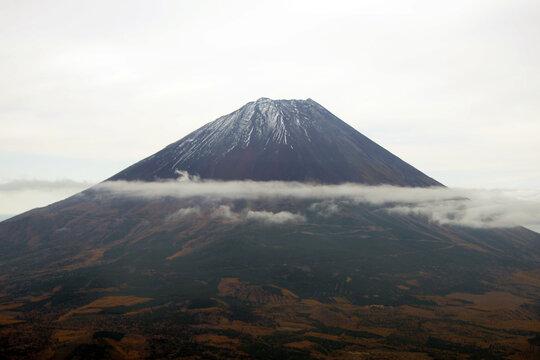 富士山 高度7500feetから見たFUJI MT