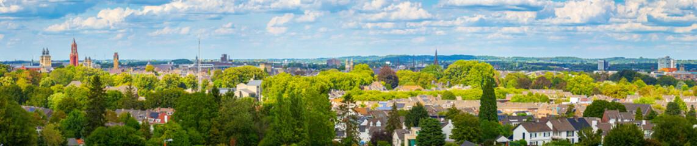 View on Maastricht Zuid-Limburg, Holland,