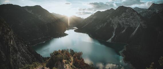 Plansee in Österreich Tirol