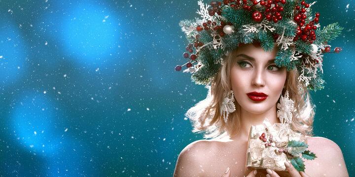 winter christmas beauty