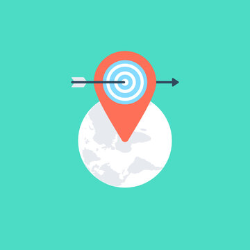 location based marketing strategy and reaching local audience, geo targeting