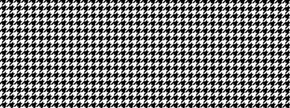 Houndstooth pattern illustration material