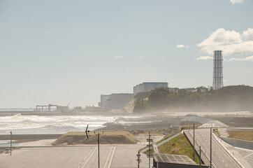 Fototapeta Fukushima Disaster Nuclear Plant in Japan