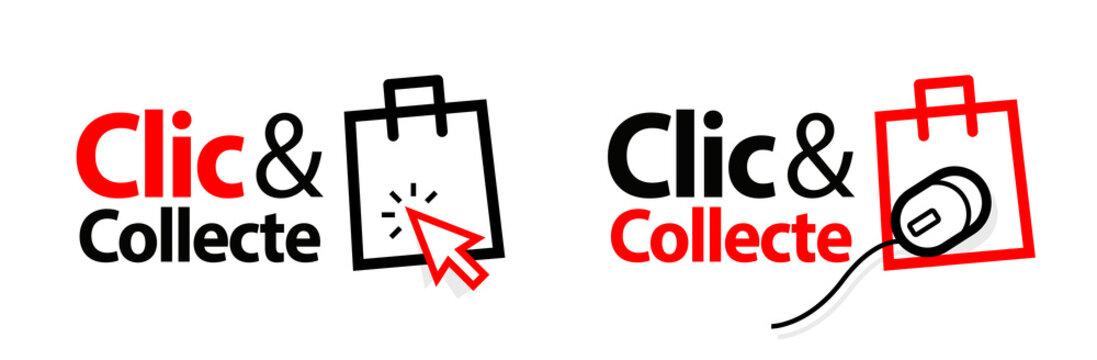 """Clic et collecte / version française de """"Click and collect"""""""