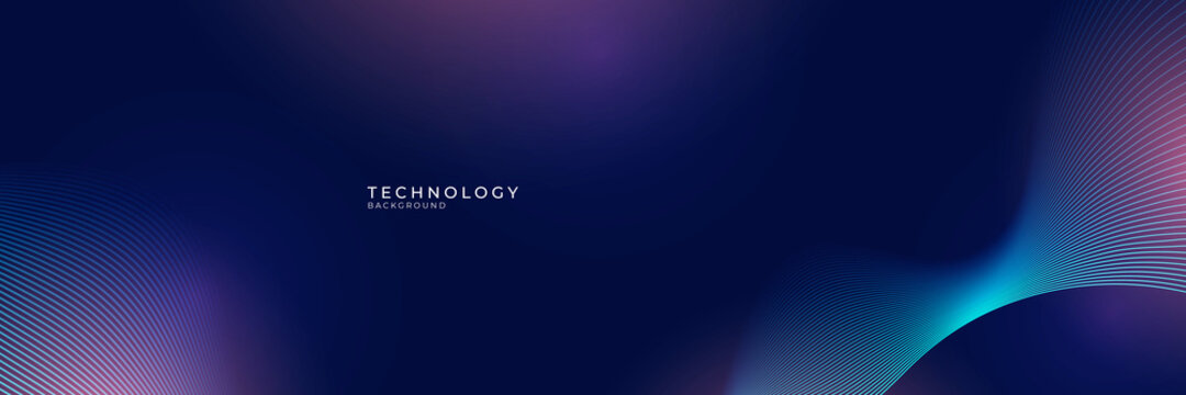 abstract technology particles lines mesh background