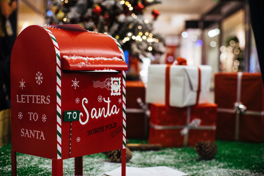 Mailbox for christmas letters to Santa Claus
