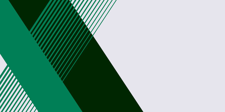 Flat dark green abstract presentation background. Vector illustration design for business presentation, banner, cover, web, flyer, card, poster, game, texture, slide, magazine, and powerpoint.