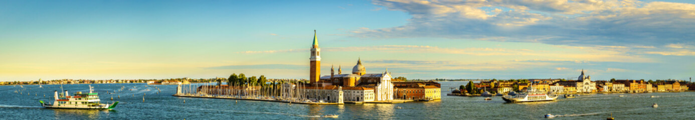 historic buildings in Venice - Italy