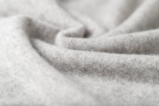 Light grey luxury pure cashmere texture as  background