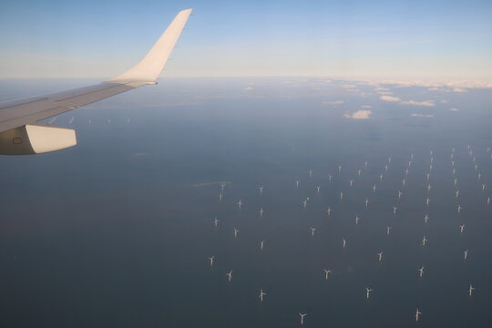 Renewable energies in the North Sea off England