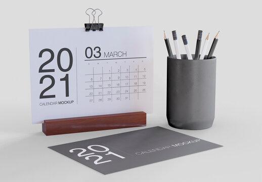 Mockup of Calendar