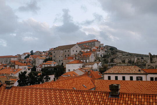 Roofs Of Old Houses