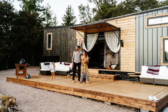 Young Family living in a Tiny Home on Wheels